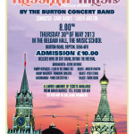 Russian Concert Poster
